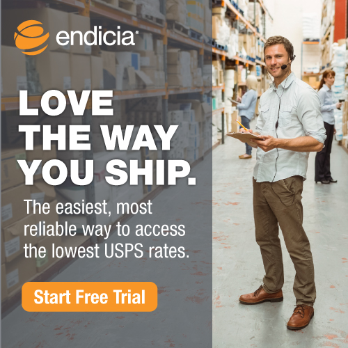 Endicia Love the Way You Ship